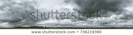 Overcast Sky Panorama Stock photo © Suljo