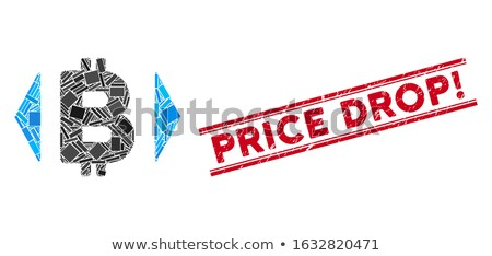 Regulate Bitcoin Price Flat Icon Stock photo © ahasoft
