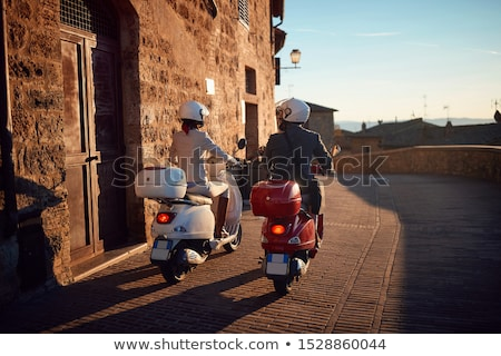 couple on scooter stock photo © is2