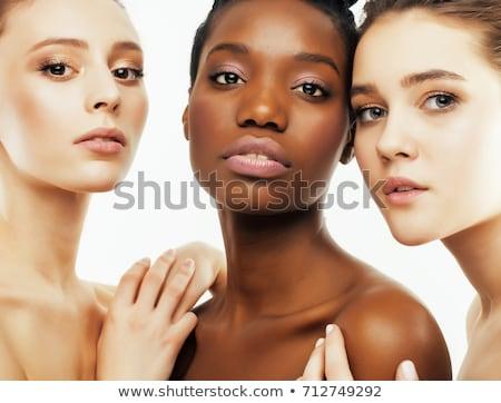 Group portrait of three women Stock photo © IS2