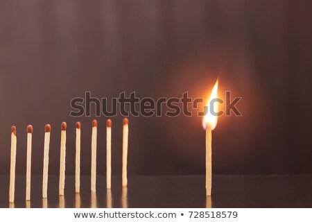 égő · agy · fekete · fény · gyógyszer · éjszaka - stock fotó © psychoshadow