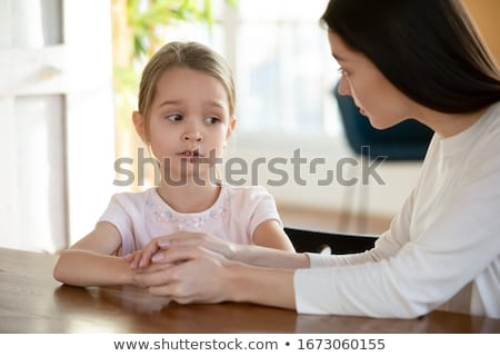 Mother demonstrating to Child Stock photo © IS2