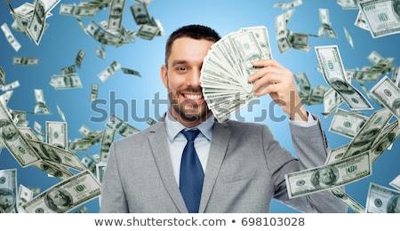 Affaires trésorerie riche personnes pop art rétro Photo stock © studiostoks