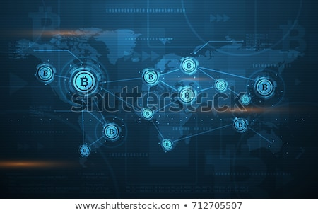 Cryptography and encryption concept vector illustration. Stock photo © RAStudio
