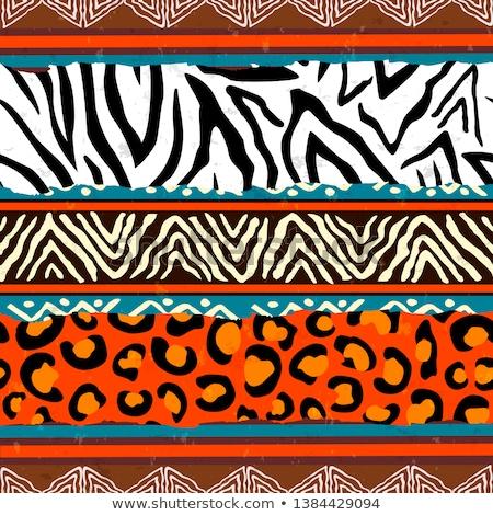 民族 · カラフル · インド · 手描き - ストックフォト © cienpies