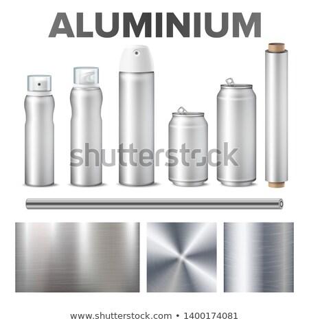 Alumínium termék fém vektor sör üdítő Stock fotó © pikepicture
