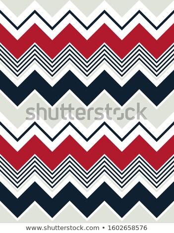 Kleurrijk zigzag patroon naadloos vector papier Stockfoto © lemony