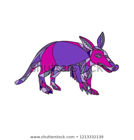 Aardvark Mosaic Stock photo © patrimonio