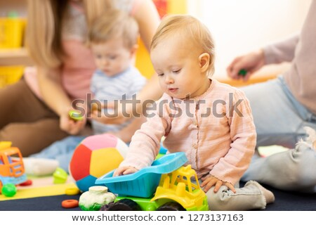 Child in playgroup of kindergarten Stock photo © Kzenon