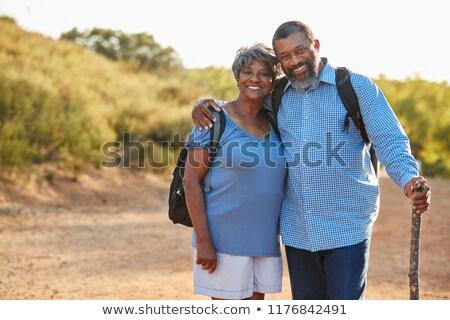 Actief senior afro-amerikaanse paar Stockfoto © wavebreak_media