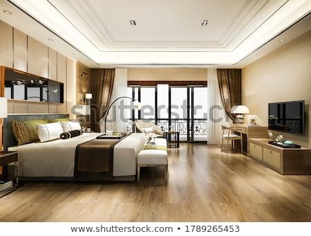 Interieur luxe vintage slaapkamer home Stockfoto © nomadsoul1