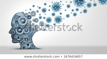 Pandemic Fear Psychology Stock photo © Lightsource