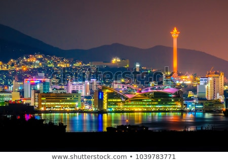Gwangalli Beach in Busan, South Korea Stock photo © dmitry_rukhlenko