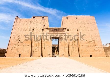 Sollievo tempio dettaglio architettonico antica Egitto Foto d'archivio © prill