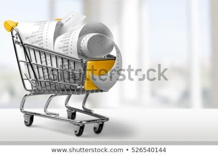 élelmiszer · köteg · általános · sekély · fókusz · papír - stock fotó © pixpack
