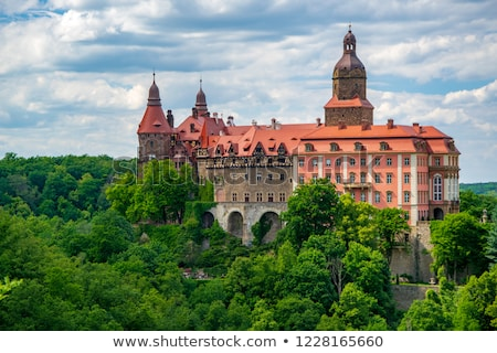 ksiaz palace silesia poland stock photo © phbcz