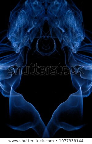 smoke detail in black back Stock photo © prill