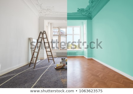 paint house stock photo © wisiel