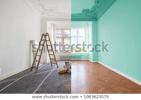 Stock photo: paint house