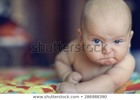 zły · baby · twórczej · projektu · sztuki - zdjęcia stock © indiwarm