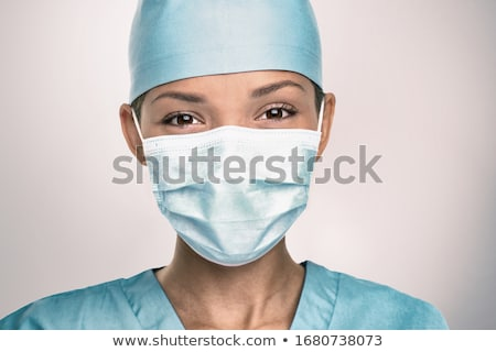cerrahi · hemşire · dostça · ofis · doktor - stok fotoğraf © lisafx