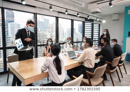 ビジネスマン · 読む · 肖像 · 成熟した · オフィス - ストックフォト © photography33