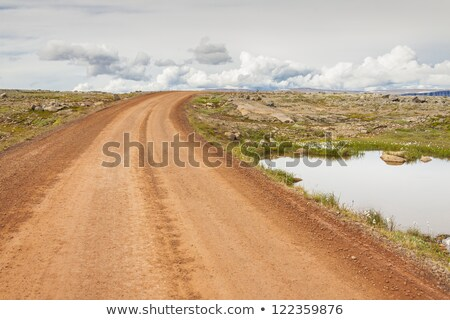 Gravel route nr 63 - Iceland, Westfjords. Stock photo © tomasz_parys
