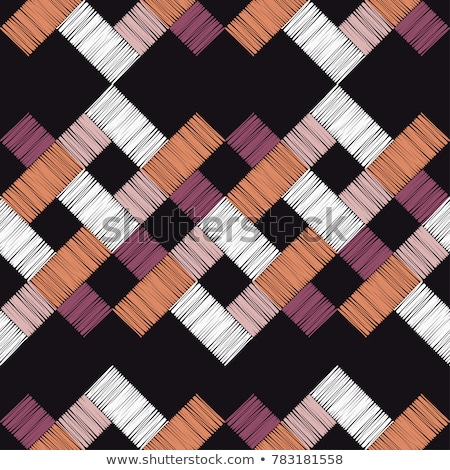 Bali tribal pattern - vector seamless texture stock photo © pzaxe