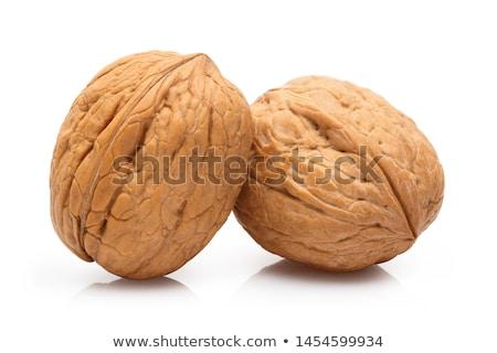 Stock photo: Two walnuts