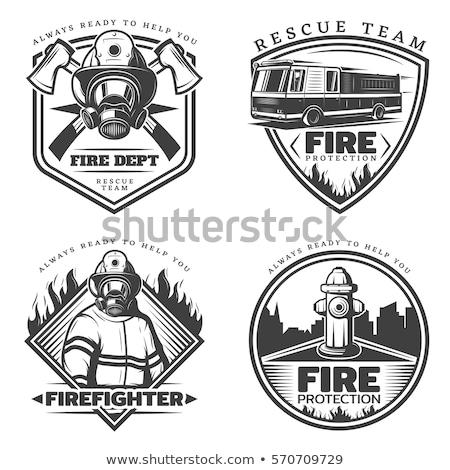 vintage fireman tools stock photo © ultrapro