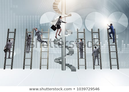 Corporate Ladder Stock photo © Lightsource