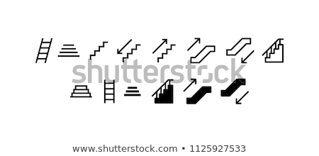 Icon_stairs Stock photo © zzve