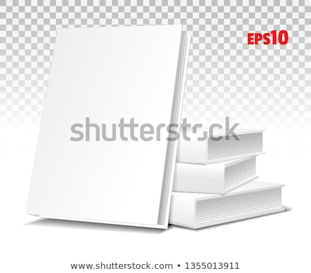 Three of books piled up Stock photo © zzve