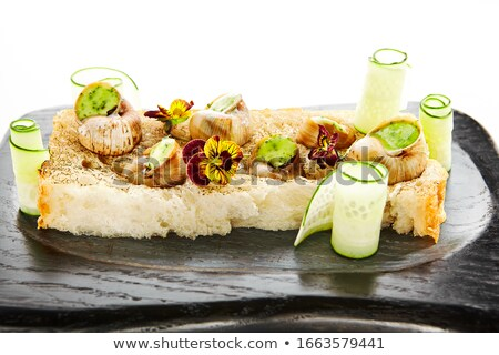 snails as gourmet food  Stock photo © jonnysek