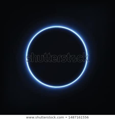blue circle Stock photo © vlastas