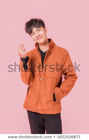 ハンサム · アジア · 格好良い · 男性 · ビジネス - ストックフォト © szefei