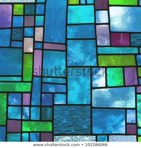 Blue Stain Glass Stock photo © rghenry