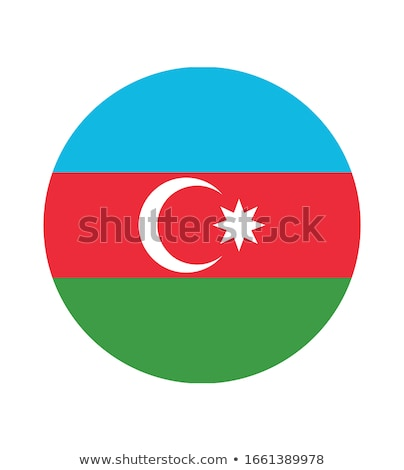 Azerbaijão bandeira ícone isolado branco internet Foto stock © zeffss