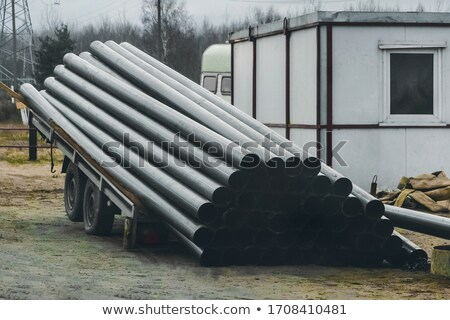 Plastique tuyaux texture fond industrie Photo stock © papa1266