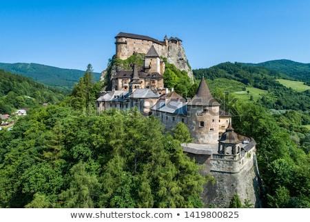 Oravsky Castle, Slovakia Stock photo © phbcz