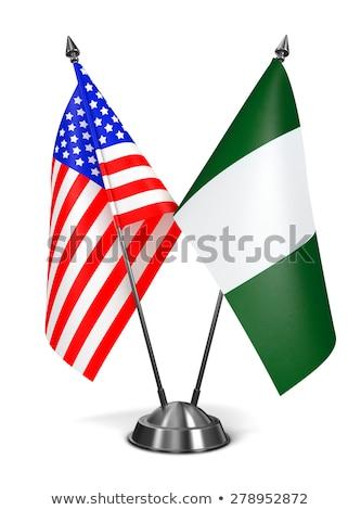 USA · Nigeria · Stany · Zjednoczone · Ameryki · kraju - zdjęcia stock © tashatuvango