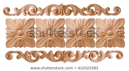 Wood Trim Pattern Stock photo © cteconsulting