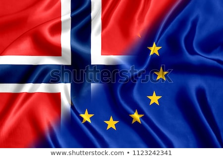 European Union and Norway Flags Stock photo © Istanbul2009