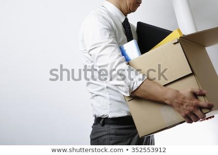 従業員 女性 上司 点数 ドア ワーカー ストックフォト © JamiRae