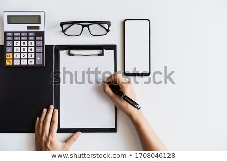 Income and Costs write on folder Stock photo © fuzzbones0