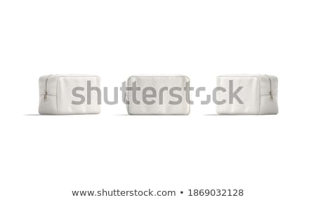 Side View Of  Woman Carrying Clutch Bag Stock photo © filipw