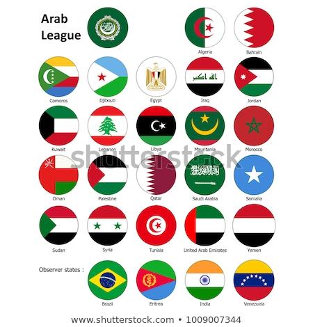Egyesült Arab Emírségek Venezuela zászlók puzzle izolált fehér Stock fotó © Istanbul2009