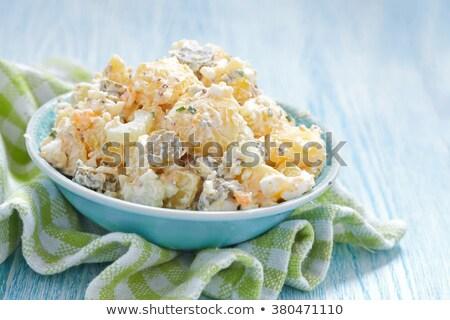 はちみつ マスタード ポテトサラダ ドレッシング 食品 ストックフォト © Digifoodstock