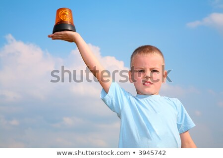 child with the automobile blinker stock photo © Paha_L