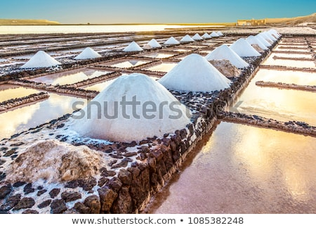 velho · mina · Espanha · ácido · secar · lago - foto stock © meinzahn